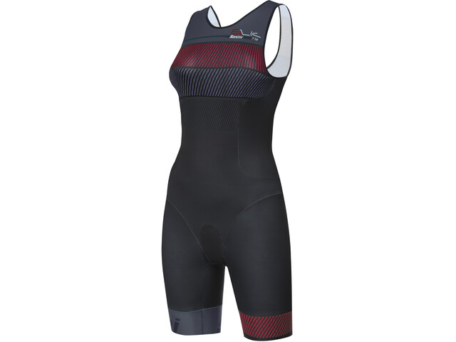 Santini Sleek 776 Combinaison de triathlon sans manches Femme, blu airy
